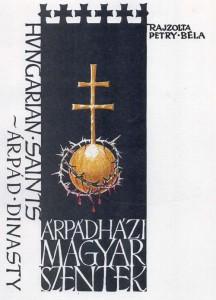 Árpádházi Magyar Szentek - fedőlap - 1988