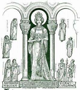 Szent Irene - Árpádházi Piroska, Szent László leánya