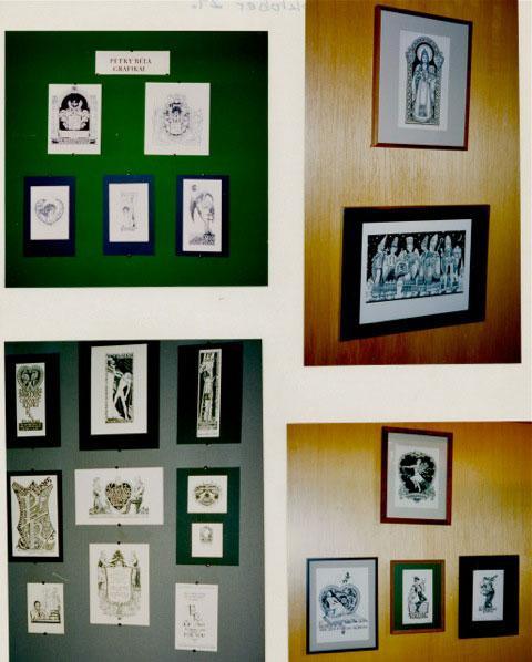 Petry Béla kiállítás az Amerikai Magyar Múzeumban, 1995