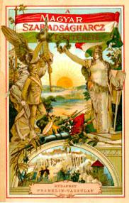 Brankovics György: A magyar szabadságharcz története, 1909 (könyvborító)