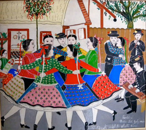 Vankóné Dudás Juli: Pünkösdi mályfa alatti tánc